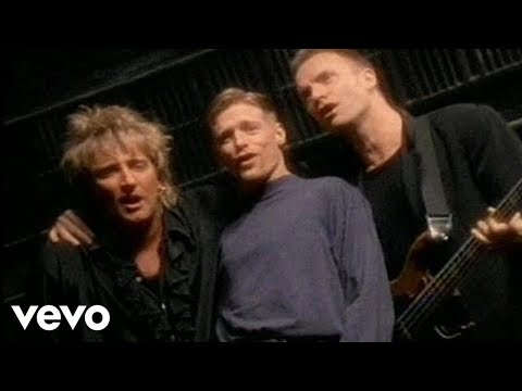 Bryan Adams, Sting & Rod Stewart - All For Love